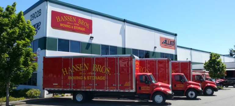 Hansen Bros. Moving & Storage - the best among freight companies in Seattle