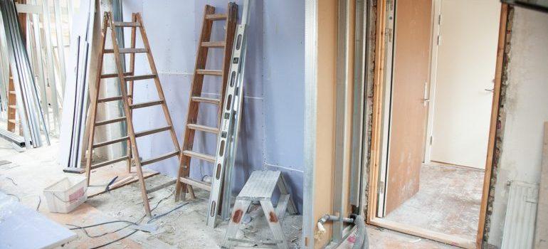 A house renovation