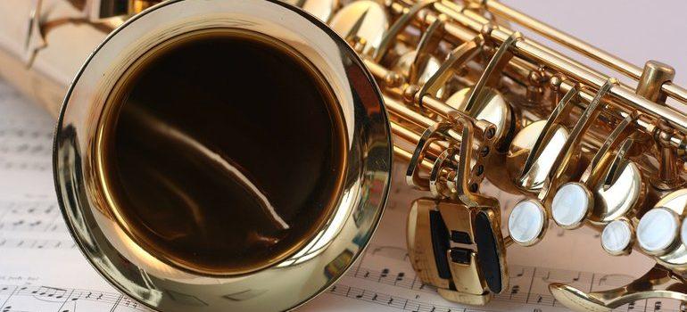 Brass instrument.
