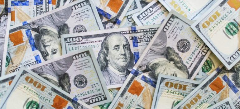 100 dollar bills from reduced rental expenses in Lynnwood WA