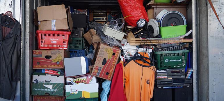 overloaded storage