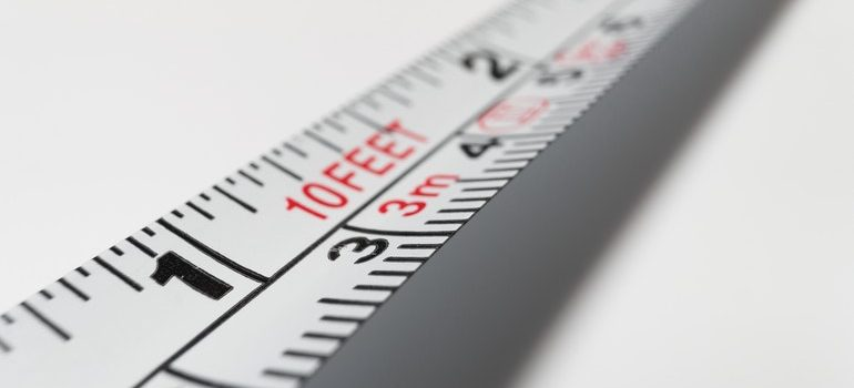 Measurement tape.