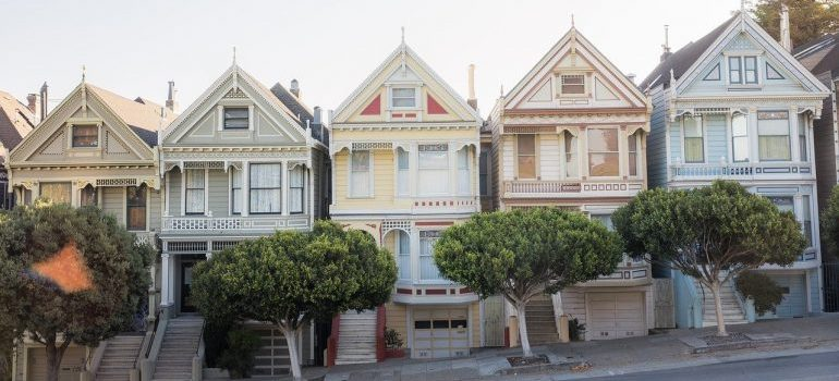 The Painted Ladies to live in after moving to San Francisco.