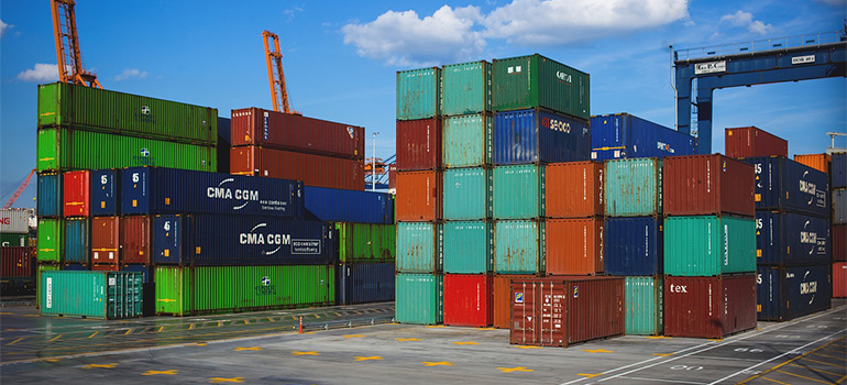 Containers for shipping goods