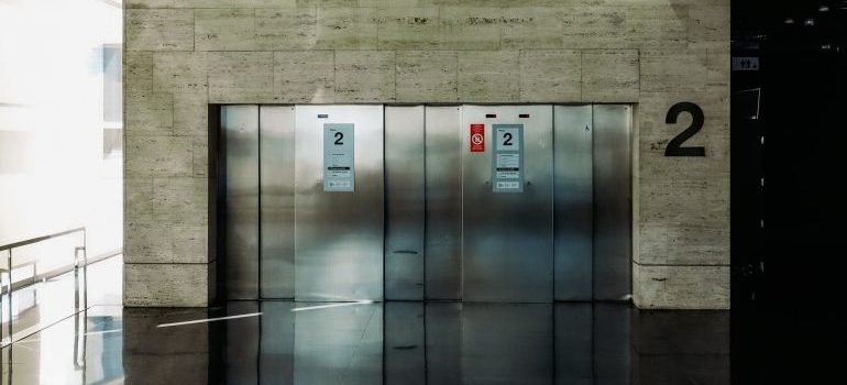 An elevator