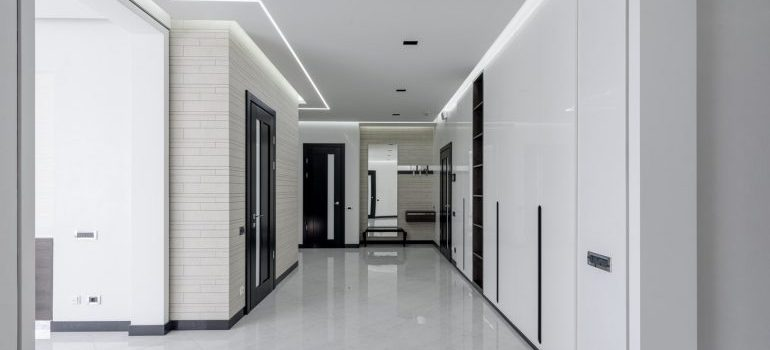 Protct the floors and walls when moving into high rise apartments