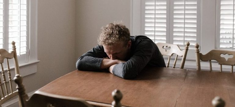 dealing with post-moving anxiety - deep breaths