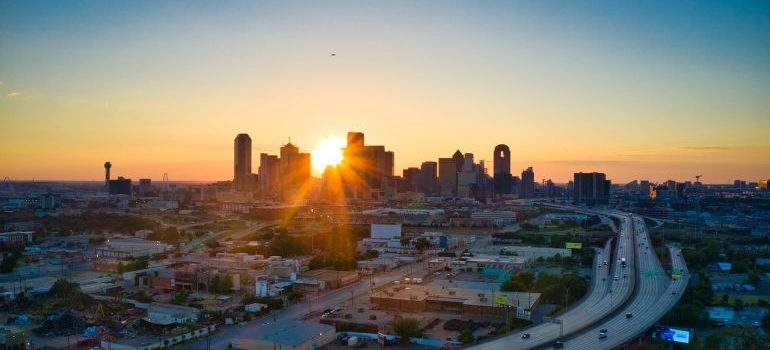 Sunset Dallas TX