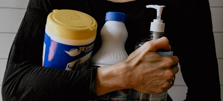 supplies required for cleaning your new home