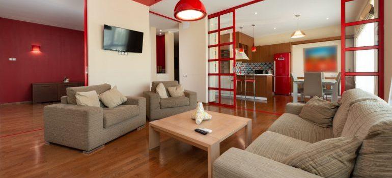 a spacious apartments